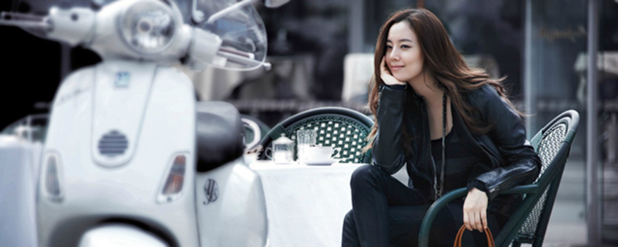 [CF] Moon Chae Won - Vincis Bench FW 2012